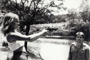 Linda Haynes in ROLLING THUNDER.