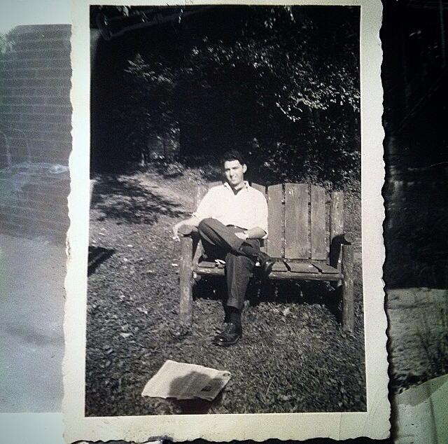 My grandfather, late 40s.